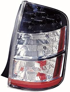 Go-Parts - OE Replacement for 2004 - 2005 Toyota Prius Rear Tail Light Lamp Assembly Housing / Lens / Cover - Right (Passenger) Side 81551-47071 TO2819135 Replacement For Toyota Prius