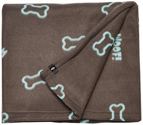 Trixie 37185 Fleecedecke Barney, 150 × 100 cm, taupe