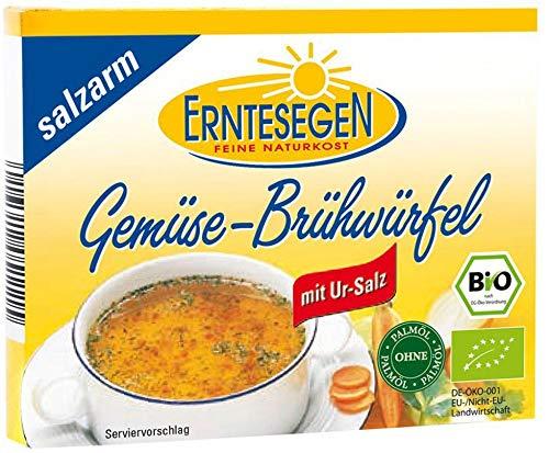 Erntesegen Bio Gemüse-Brühwürfel -salzarm- (2 x 66 gr)