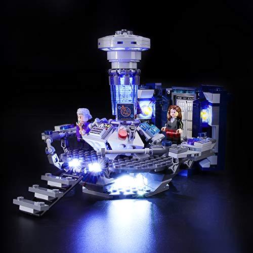 BRIKSMAX Kit de Iluminación Led para Lego Ideas Doctor Who, Compatible con Ladrillos de Construcción Lego Modelo 21304, Juego de Legos no Incluido