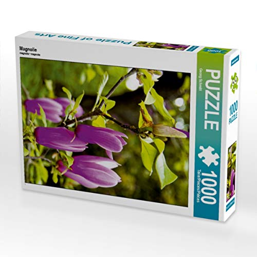CALVENDO Puzzle Magnolie 1000 Teile Lege-Größe 48 x 64 cm Foto-Puzzle Bild von Georg Schmitt