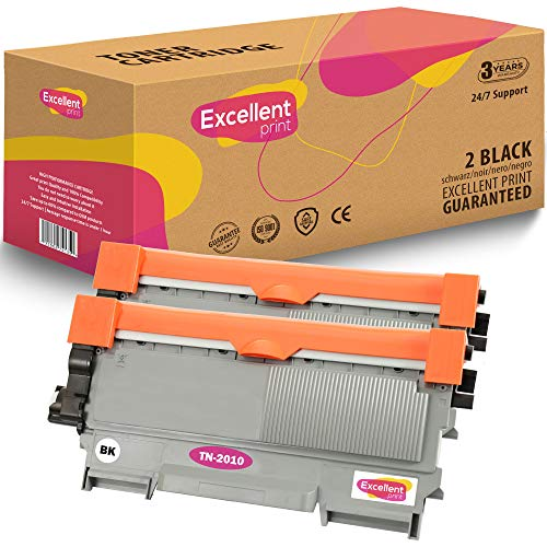 Uitstekende Print TN-2010 TN-2220 Compatible Toner cartridge for Brother HL-2240 HL-2130 HL-2270DW HL-2240D 2 Zwart