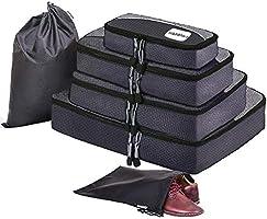 トラベルポーチセット アレンジケース 旅行用便利グッズ スーツケースインナーバッグ 衣類圧縮袋 3色…
