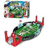 Juguete de fútbol sobre mesa, juego de mesa mini de fútbol, juego de mesa 2 en 1, juego de mesa de hockey para niños y adultos