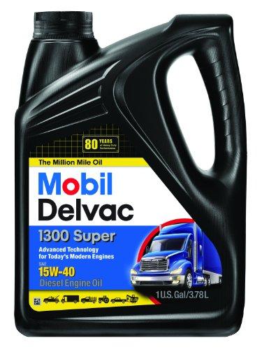 Mobil Super 96819 15W-40 Delvac 1300 Motor Oil - 1...