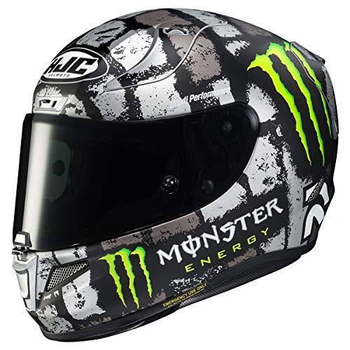 HJC Helmets RPHA 11 Pro Helmet - Crutchlow Silverstone (Large) (Black/Grey)