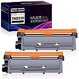 Zambrero TN2320 TN-2320 TN2310 TN-2310 Cartucho Tóner Compatible para Brother MFC-L2700DW...