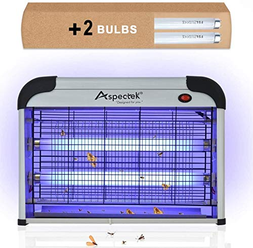 Aspectek Powerful 20W Electronic Indoor Insect Killer, Bug Zapper, Fly Zapper, Mosquito...