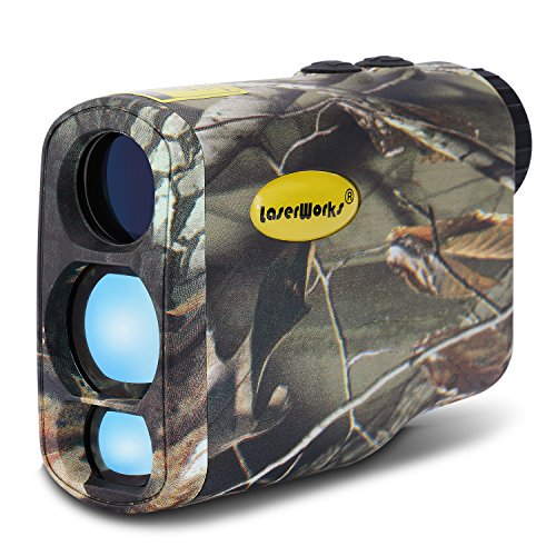 LaserWorks LW1000SPI Laser Rangefinder for Hunting and...