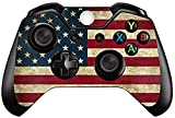 Skin Sticker Vinly Decal Cover for Microsoft Xbox One DualShock Wireless Controller (Art Bombing Slapping)-American Flag