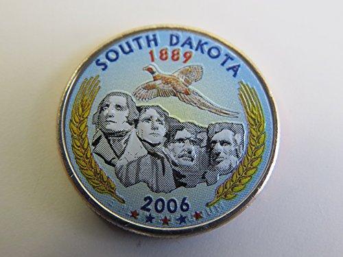2006 Various Mint Marks South Carolina Colorized Quarter Choice Uncirculated