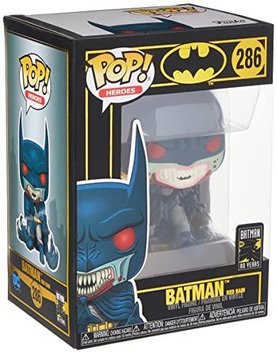 Funko- Pop Figura de Vinilo: Held 80th-Red Rain Batman (1991) Coleccionable, Multicolor, One-Size (37253)