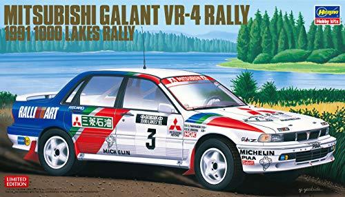 Hasegawa- 1:24 Mitsubishi Galant VR-4-1991 1000 Lakes Rally (HA20431)
