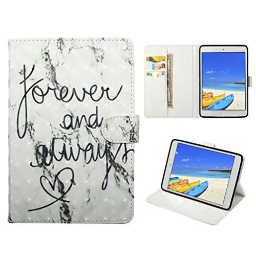 Vogu'SaNa Compatible Case for iPad Mini 2019/Mini 4/3/2 PU Leather Protective Flip Cover with Stand Card Slots Magnetic Cover
