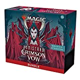 Magic: The Gathering Innistrad: Crimson Vow Bundle | 8 Set Boosters + Accessories