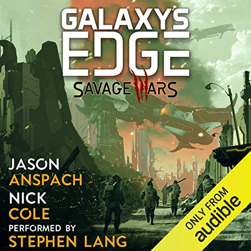 Savage Wars cover art