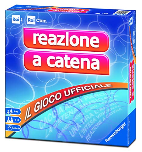 Ravensburger 26281 Reazione a Catena, Gioco da Tavolo, per 4-8 Giocatori, Età Consigliata 8+