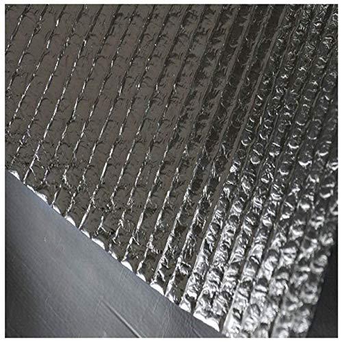4mm Superfoil Isolierung für Garagentor Wärmeabweisend Aluminium-Thermo-Folie Isolierfolie Thermisch Isolierung Dämmfolie Aluminium Folien-Blase Rohrisolierung Folie Wand Isolier(Size:1x30m,Color:4mm)