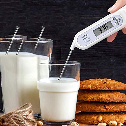 MeatThermometer, Waterproof Ultra Fast Thermometer Kitchen Food Cooking Thermometer Best Super Fast Electric Meat Thermometer Probe Bath Water