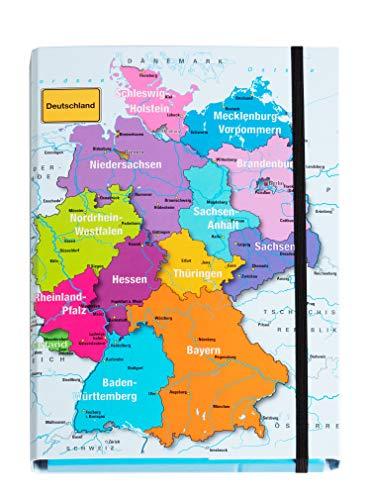 Pagna Heftbox Deutschland DIN A4 Rückenbreite: 40 mm