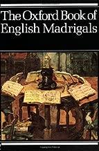 The أكسفورد كتاب من madrigals باللغة الإنجليزية