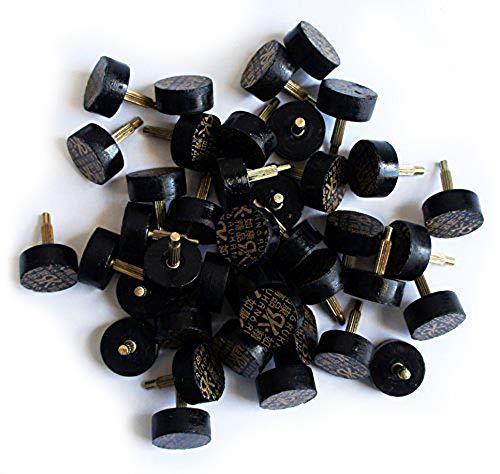 Well Made Tools HAND ® PA602 Eine Packung mit Premium-Ladies Round Hohe Schuhmacher Heel-Tipps - 15 mm, 20 Paare pro Packung