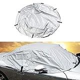 KKmoon, Copertura per Auto, Copertura Morbida per tettuccio Auto, Impermeabile, Antipioggia, Mezza Protezione antigelo e Raggi UV, Adatta per Mazda MX-5 MK1 MK2 MK2.5