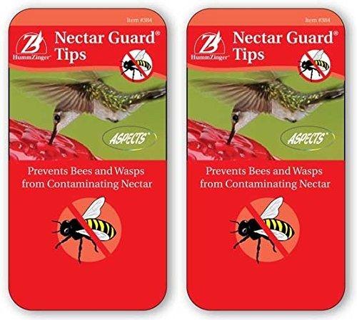 Aspects Bird Feeders Hummzinger Hummingbird Nectar Guard Tips