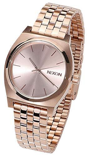 Nixon Damen Analog Quarz Uhr mit Edelstahl Armband A1130897-00