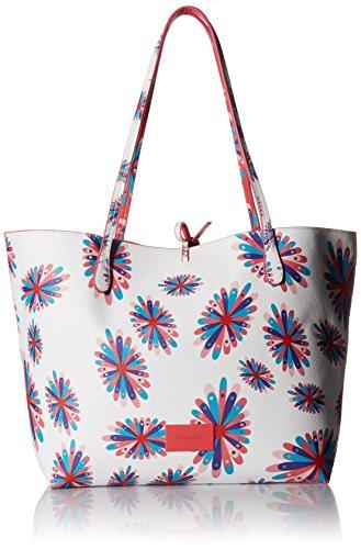 Desigual 3 in 1 Wende Shopper Tasche NEU F/S 2018 FRISBEE CAPRI 18SAXPFL
