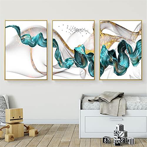 Odtis Abstract Canvas Pintura Shopify Decoración Del Hogar Pósteres Impresiones Sofá Sala De Estar Wall Art Modern Canvas Pósters. 20x30cm Framed