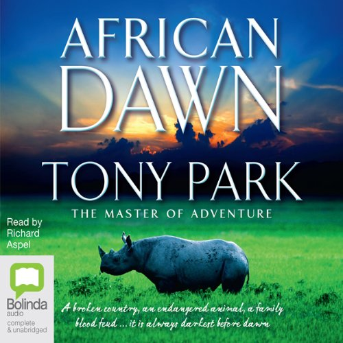 African Dawn audiobook cover art