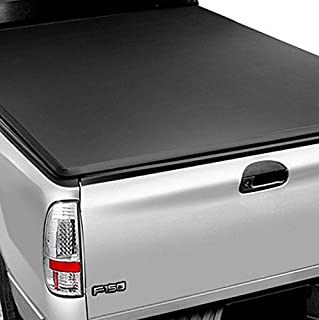 R&L Racing Roll-Up Soft Tonneau Cover 89-04 for Toyota Tacoma Pickup Truck 6 Ft Short Bed