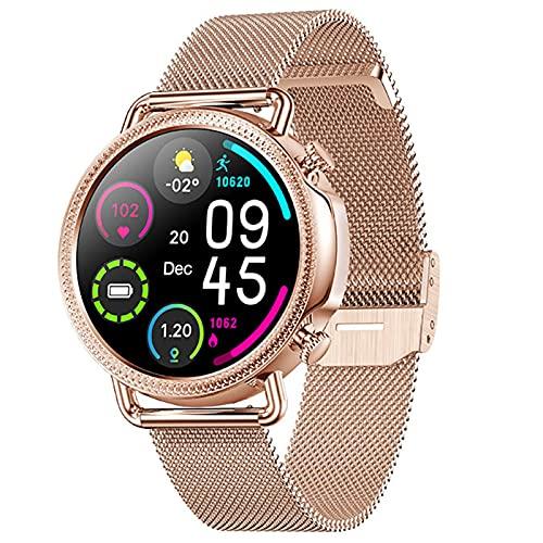 APCHY Smart Watch Women, Rastreador De Fitness con Sueño Fisiología Fisiología Temperatura Corporal Monitor De Frecuencia Cardíaca, Rastreador De Actividades Impermeables IP67 para Hombres,D