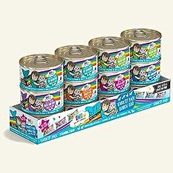 professional Weruva BFF Omg – Best Cat Friend, My Source!  , Variety Package, Rainbow Street, Wet Cat Food, …