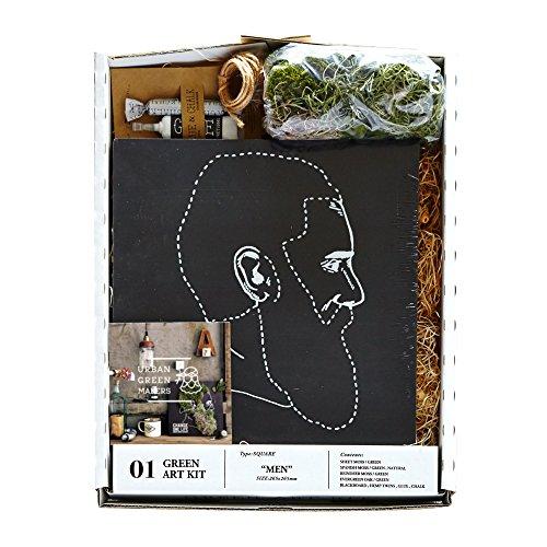 アーバングリーンメーカーズ グリーンアートキット URBAN GREEN MAKERS GREEN ART KIT [ MEN ] 黒板