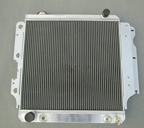 Radiador de aluminio de 3 filas para Wrangler YJ/TJ/LJ 1987-2006 88 89 90 91 AT RHD