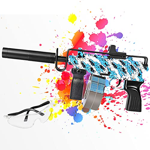 Gel Gun Blaster - ferventoys Electric Water Gun with 10,000 Gel Balls for Shooting Games by Adults,...