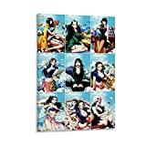 QINGF One Piece-Nico Robin-4K HD Anime-Poster, dekoratives