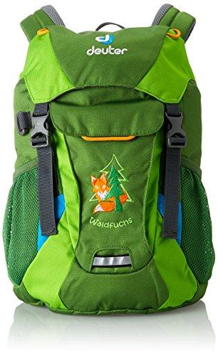 Deuter Waldfuchs Mochila, Unisex niños, Verde (Emerald-Kiwi), 35 Centimeters