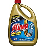 Liquid-Plumr Pro-Strength Full Clog Destroyer Plus PipeGuard, Liquid Drain...