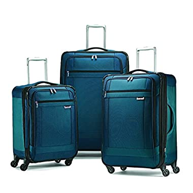 Samsonite Solyte 3-Piece Expandable Spinner Set; 20 25 and 29 Expandable Spinners (Teal)