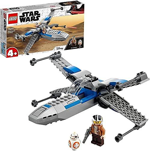 LEGO 75297 Star Wars Resistance X-Wing Starfighter Kleinkinder Spielzeug ab 4 Jahren mit Poe Dameron Minifigur und Droidenfigur BB-8