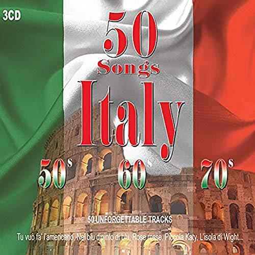 3CD 50 Songs Italy, 50' 60' 70' , Musica Italiana, Grazie Dei Fior, Italian Music, Anni 50, Anni 60, Anni 70, Malafemmena, Che Bambola, Tintarella Di Luna