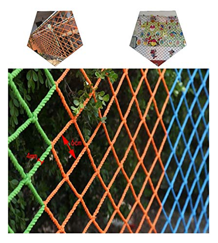 Fantastic Deal! Multi-Purpose Safety Net Decoration Net Children Balcony Anti-Fall Net Stairs Protec...