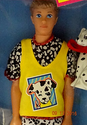 Barbie - Pet Pals KEVIN Doll w Dalmatian Puppy (1991)