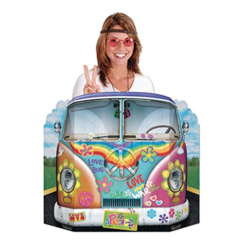 Beistle 57950 Foto-Requisite, Hippie-Bus, 91,4 cm x 63,5 cm
