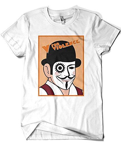 1342-Camiseta V For Violence (Karlangas)