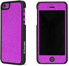 product image for Slickwraps Glitter Collection the Case for iPhone 5 & 5s - Pink Glitz - Carrying Case - Retail Packaging - Pink Glitz