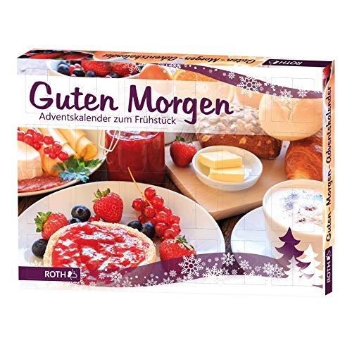 ROTH Guten Morgen-Adventskalender 2020 gefüllt mit hochwertigen Aufstrichen und Genussartikeln, Frühstücks-Kalender für die Vorweihnachtszeit